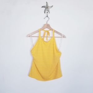 AE American Eagle Tie neck Halter Top NEW X Large